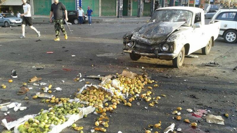 جنوبی شام میں فروٹ منڈی میں خودکش بم دھماکہ، 75 سے زیادہ افراد جاں بحق متعدد زخمی