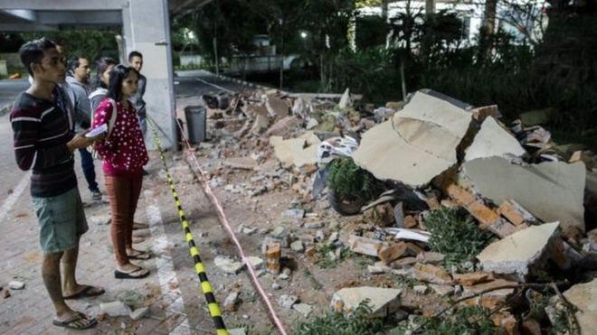 انڈونیشیا کے سیاحتی جزیرے لومبوک میں ایک ہفتے بعد پھر زلزلہ: 90 سے زیادہ ہلاک، سینکڑوں زخمی