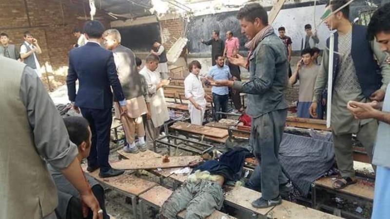 داعش نے افغانستان میں پھر کیا شیعہ تعلیمی مرکز پر خودکش حملہ، 60 سے زیادہ شہید، 100 زخمی