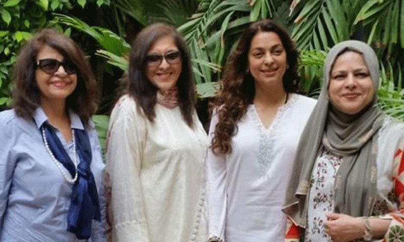 مختصر دورے کے بعد جوہی چاولہ کراچی سے روانہ