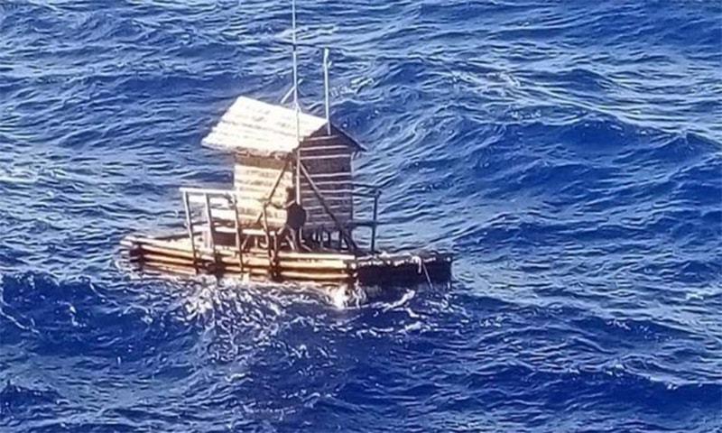 انڈونیشیا: 49 روز تک سمندر میں بھٹکنے والے نوجوان کو بچالیا گیا
