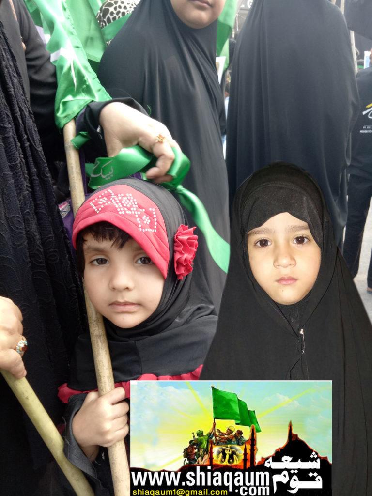 ناظم صاحب کے امام باڑہ سے برآمد ہوا چہلم کا جلوس