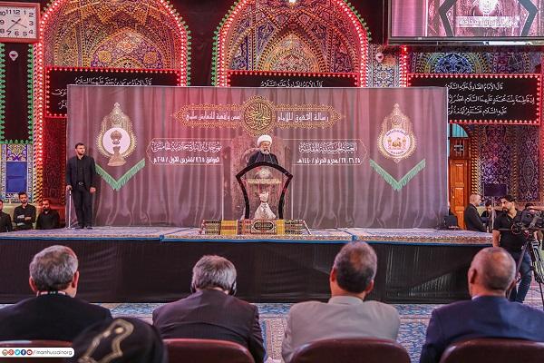 کربلا معلی؛ امام سجاد(ع) فیسٹیول روضہ امام عالی مقام میں منعقد ہوا