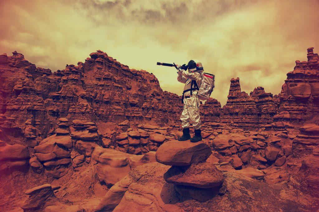 سائنسدانوں کا مریخ کی مٹی میں آکسیجن کی موجود گی کا دعویٰ