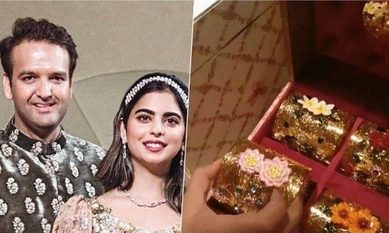انوکھا شادی کارڈ : مکیش امبانی کی بیٹی ایشا امبانی کی شادی کا کارڈ ساڑھے 5 لاکھ روپے ہوا تیار