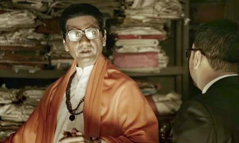 انتہاپسند ہندو رہنما بال ٹھاکرے کی نوازالدین صدیقی کے روپ میں واپسی