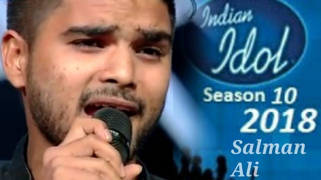 سلمان علی انڈین آئیڈل سیزن 10کے فاتح