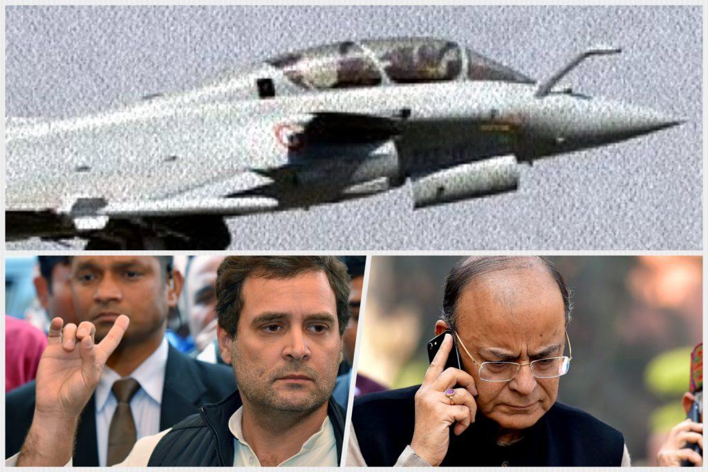 کانگریس کا رافیل طیارہ سودے کی جانچ جی پی سی سے دوبارہ کرانے کا مطالبہ