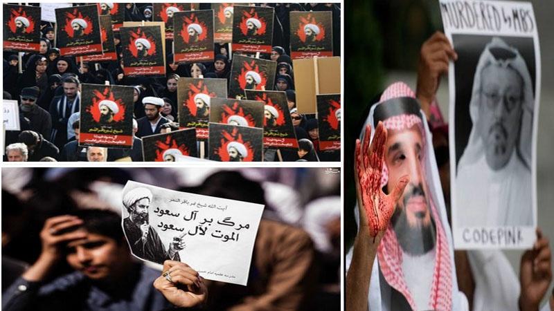 آیت اللہ نمر کی سزائے موت سے قاشقجی کے قتل تک، آل سعود کے جرائم کا تسلسل