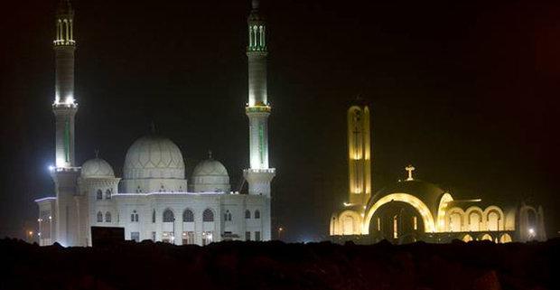 مصر کی سب سے بڑی مسجد اور سب سے بڑے گرجا گھر کا افتتاح
