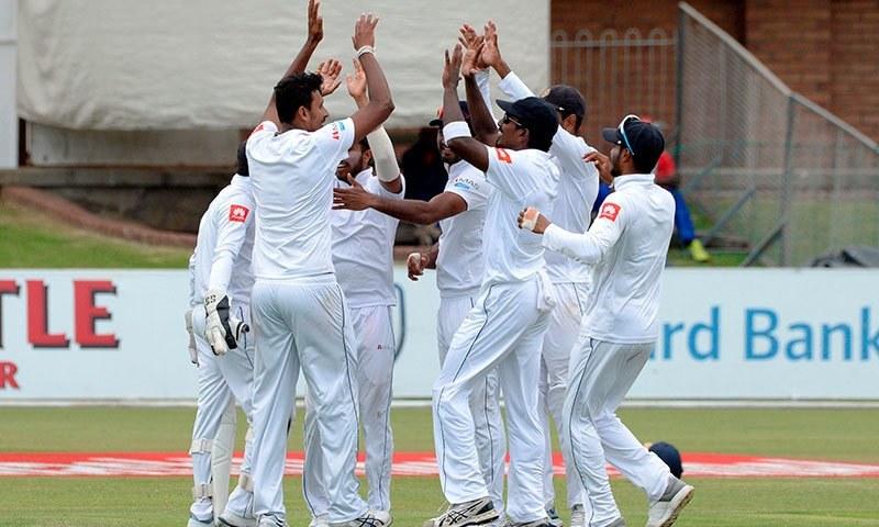 سری لنکا نے ٹیسٹ کرکٹ میں نئی تاریخ رقم کردی