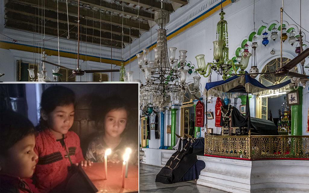 پلوامہ میں دہشتگردانہ حملے کے خلاف سبطین آباد امامباڑے سے نکالا گیا کینڈل مارچ