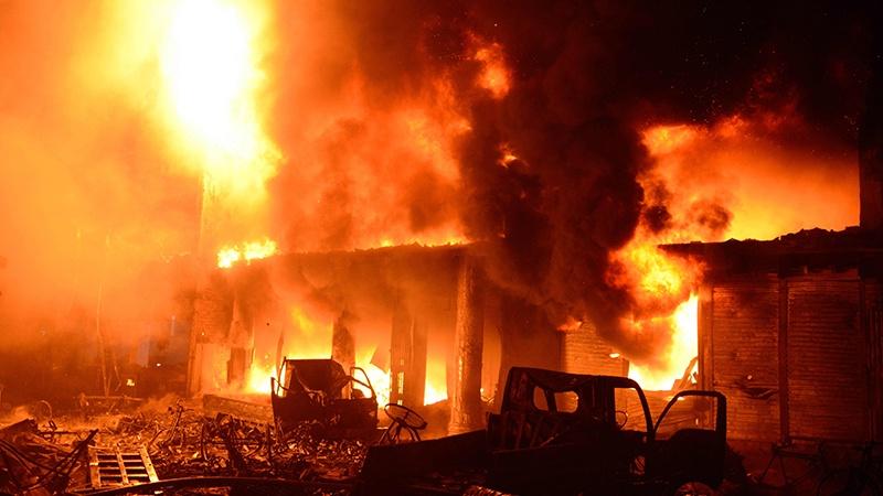 بنگلا دیش : آگ لگنے سے جاں بحق افراد کی تعداد 110 ہو گئی