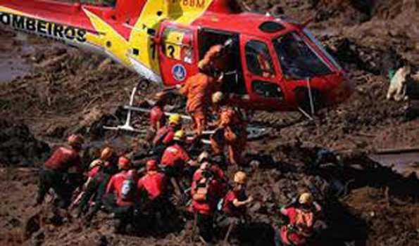 برازیل میں باندھ حادثہ میں ہلاک شدگان کی تعداد ہوئی 166