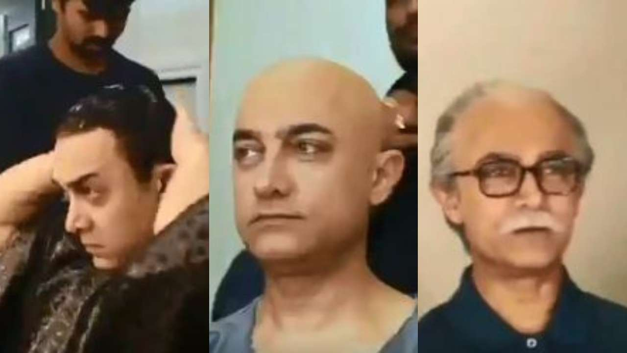 چٹکیوں میں بوڑھے ہوئے بالی ووڈ اداکار عامر خان، ویڈیو دیکھ کر آپ بھی ہو جائیں گے حیران
