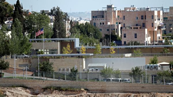 بیت المقدس : امریکی قونصل خانے کو اسرائیل میں سفارت خانے میں ضم کرنے کا اعلان