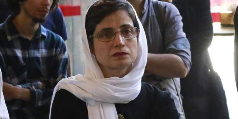 ایران : نسرین کو ۳۸؍ سال قید اور ۱۴۸کوڑوں کی سزا