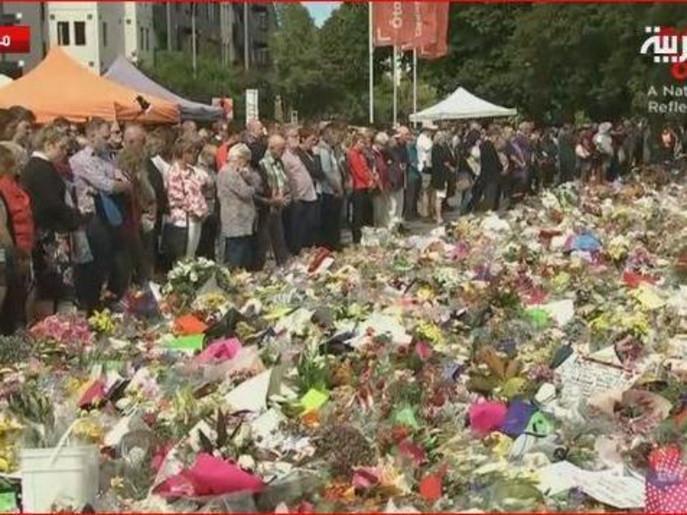 نیوزی لینڈ: مساجد کے شہداء کی نماز جنازہ کے موقع پر مذہبی رواداری کا بے مثال مظاہرہ