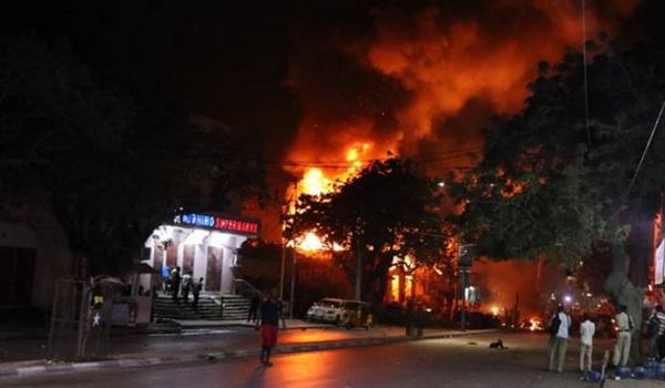صوماليہ میں دھماکے سے 15 ہلاک، 30 زخمی