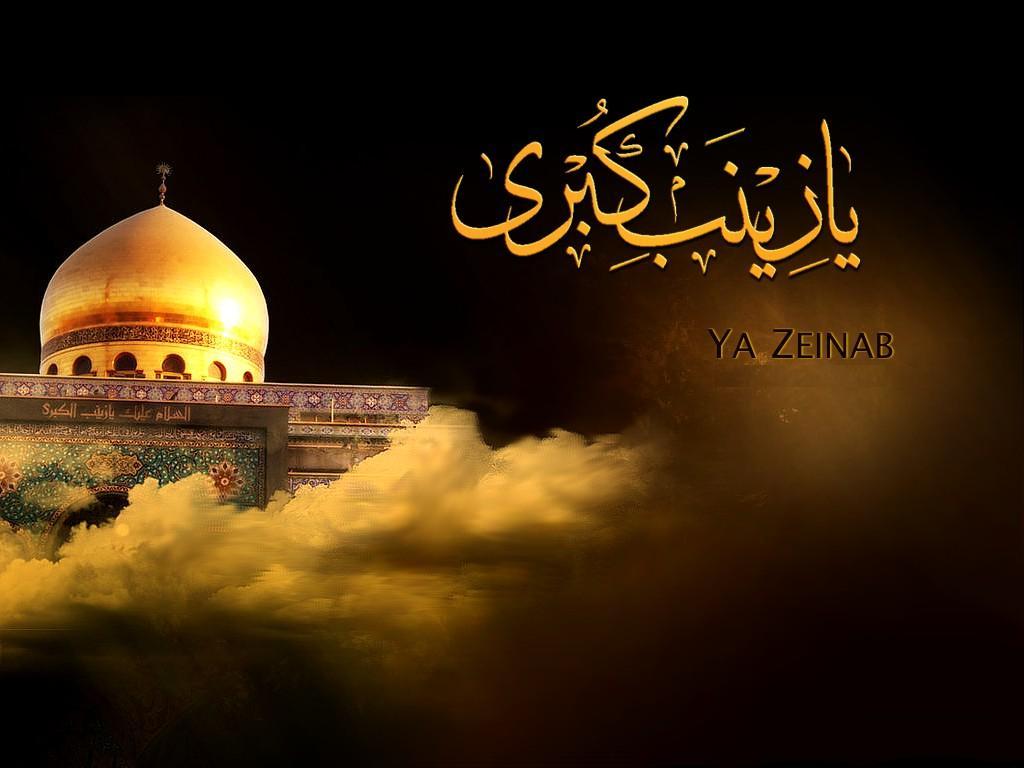 شام میں کربلا کی شیر دل خاتون حضرت زینب کبری سلام اللہ علیہا کے یوم وفات پر مجالس عزا برپا