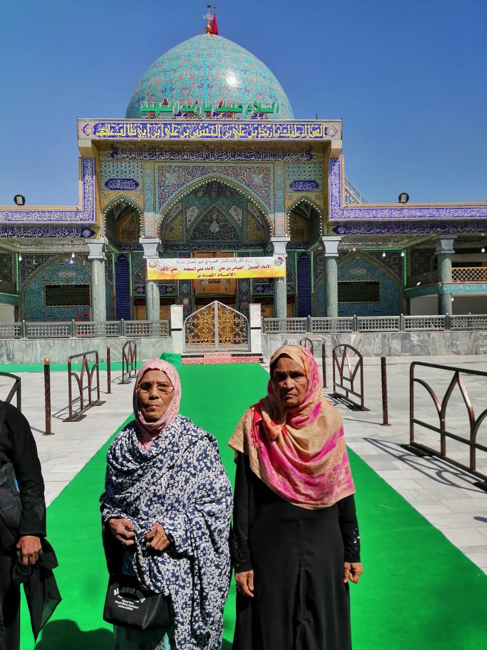 कर्बला का रोहानी सफ़र- जब इमाम हुसैन अस की विलादत के मौक़े पे हुसैनी लश्कर के कसीर मजमे ने मुबारकबाद पेश की