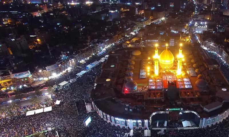 عراق: زائرین کی تعداد میں اضافہ، روضہ امام حسینؓ کے احاطے میں توسیع