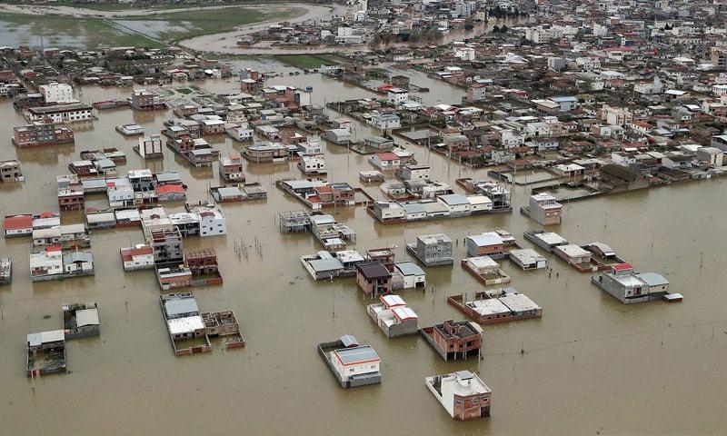 پاکستان کی جانب سے امدادی سامان سیلاب سے متاثرہ ایران روانہ