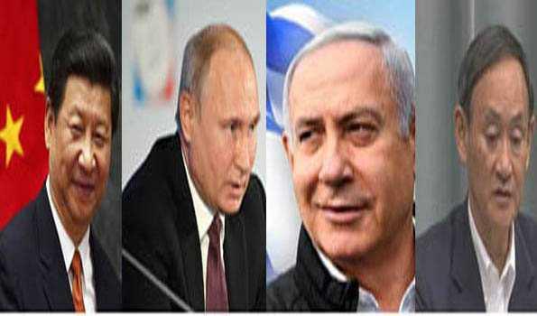 عالمی رہنماؤں نے دی مودی کو مبارک باد