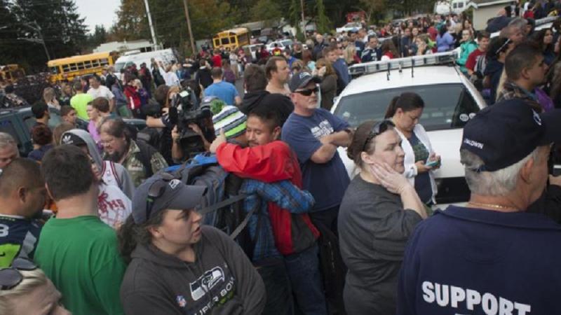 امریکی اسکول میں فائرنگ 8 طالب علم زخمی