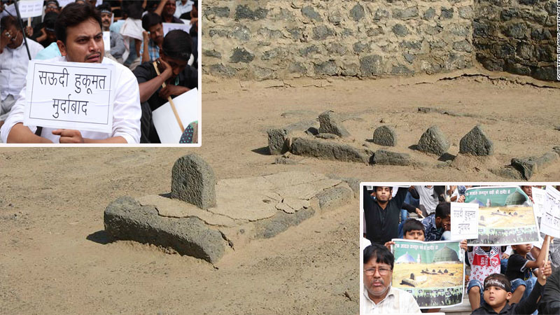 आह ! जन्नतुल बक़ी | लखनऊ और दिल्ली में जन्नतुल बक़ी की शहादत की बरसी पर हुआ विरोध प्रदर्शन