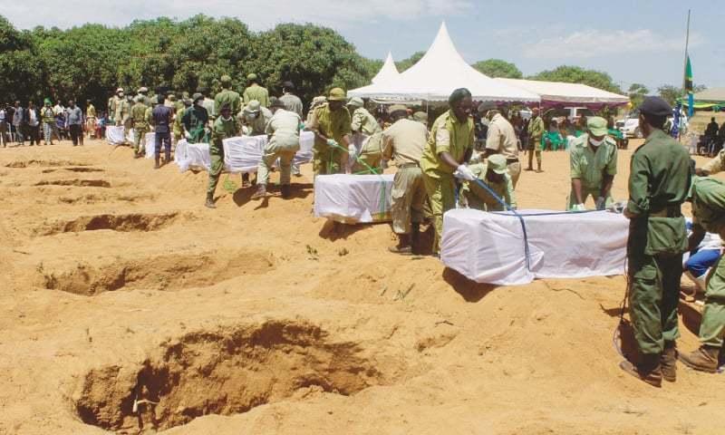 تنزانیہ میں آئل ٹینکر کا دھماکا، 57 افراد ہلاک