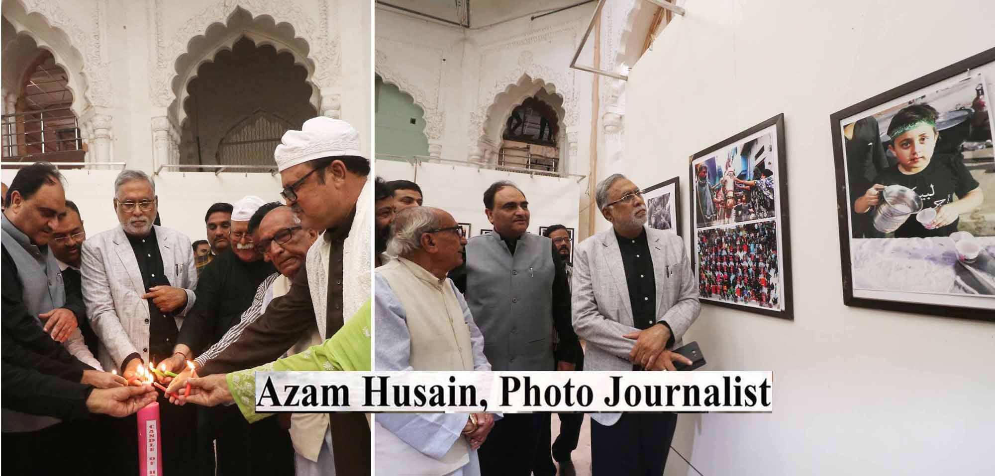 कर्बला की दास्तां बयान करती 11वीं अंतर्राष्ट्रीयफ़ोटो व पेटिंग प्रदर्शनी शुरू