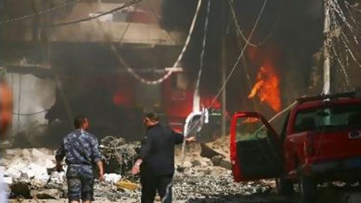 کربلا: بس میں بم دھماکہ - 12 افراد شہید متعدد زخمی