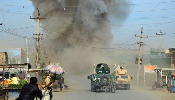 افغانستان کے دارالحکومت کابل میں طالبان نے کیا خود کش حملہ، 16 افراد جاں بحق، 119 زخمی