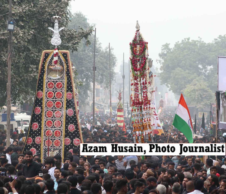 लखनऊ में अकीदत व एहतेराम के साथ मनाया गया कर्बला के 72 शहीदों का चेहलुम