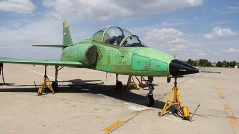 ایران نے ایڈوانس ٹریننگ جیٹ طیارہ بنایا
