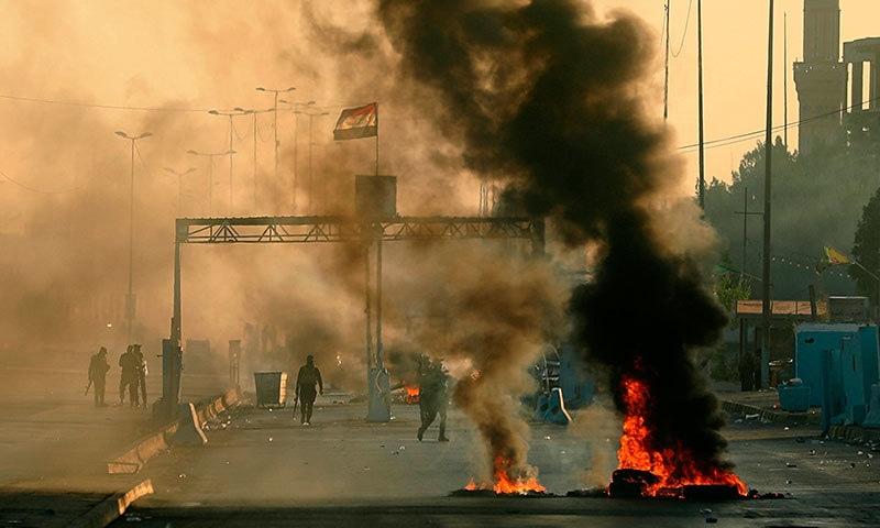 اقوام متحدہ نے کی عراق میں پر تشدد مظاہروں کی مذمت