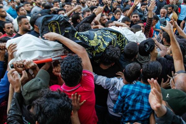 اسرائیلی فوج کے غزہ پر فضائی حملے جاری،  18 فلسطینی شہید اور زخمی