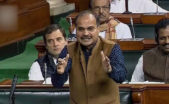 ادھیر رنجن چودھری نے لوک سبھا میں کہا۔ ' میک ان انڈیا' سے ' ریپ ان انڈیا' کی طرف بڑھ رہا ہے ہندستان