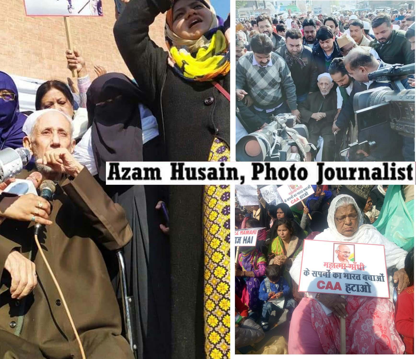 حسین آباد گھنٹہ گھر خواتین احتجاج ، ڈاکٹر کلب صادق نے دھجیاں اڑائیں