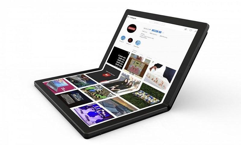 کمپیوٹر تکنالوجی میں کمال دنیا کا پہلا فولڈ ایبل لیپ ٹاپ