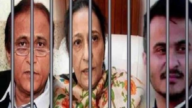 कद्दावर नेता आज़म खान को सह परिवार जेल भेजा गया- सुरक्षा कारणों के चलते रामपुर से सीतापुर जेल शिफ्ट
