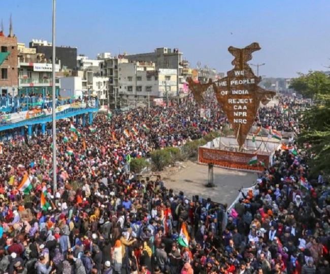 علاقہ کو چھاؤنی میں تبدیل کر شاہین باغ احتجاجیوں کو امیت شاہ سے ملنے نہیں دیا گیا