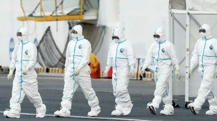 ایران، کورونا وائرس سے جنگ میں فرنٹ لائن پر، دیکھتے ہی دیکھتے بن گیا فیلڈ ہاسپٹل
