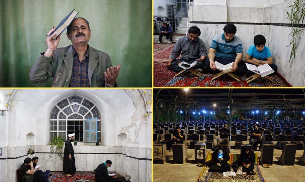 کوویڈ -19 کا قہر جاری- ہمدان میں شب قدر عقیدت و احترام کے ستھ منائی گئی
