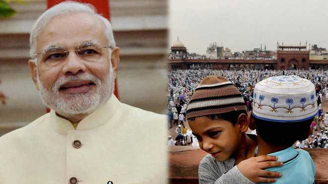 وزیر اعظم مودی اور صدر رام ناتھ كووند نے دی عید الفطر کی مبارک باد
