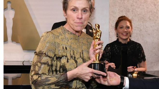 آسکرز 2018: بہترین اداکارہ فرانسیس میکڈورمینڈ کا ایوارڈ چرانے والا شخص گرفتار