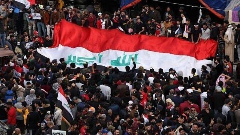 امریکی دہشتگردوں کے خلاف عراقی عوام کا تاریخی میلین مارچ