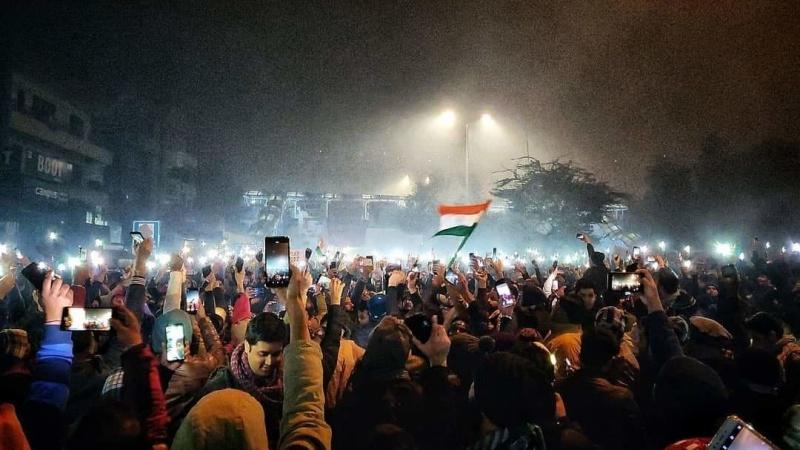 سی اےاے اور این آر سی کے خلاف ملک گیر مظاہروں میں شدت