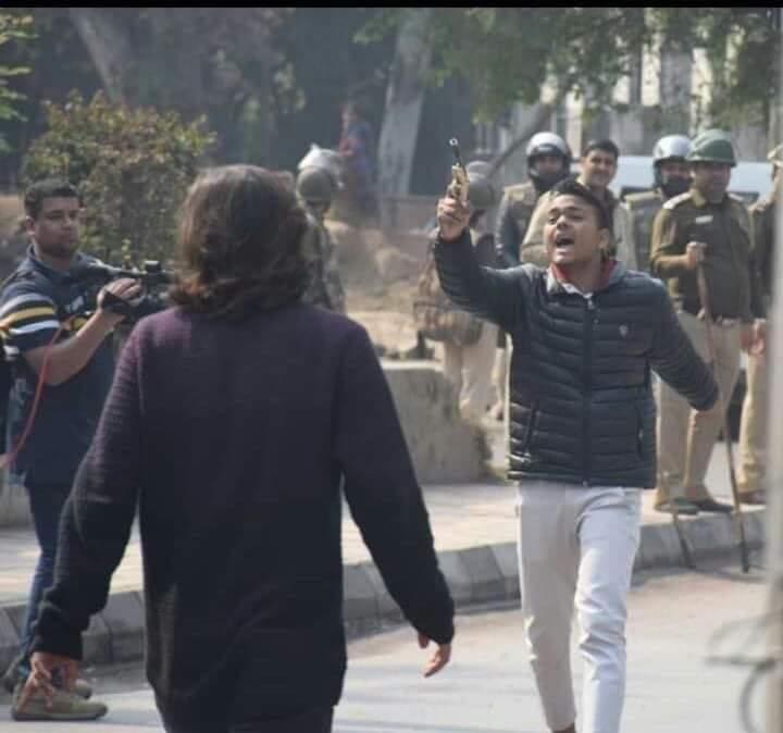 جامعہ ملیہ اسلامیہ میں فائرنگ کرنے والے شخص کو افسوس نہیں کیونکہ وہ لینا چاہتا تھا بدلہ
